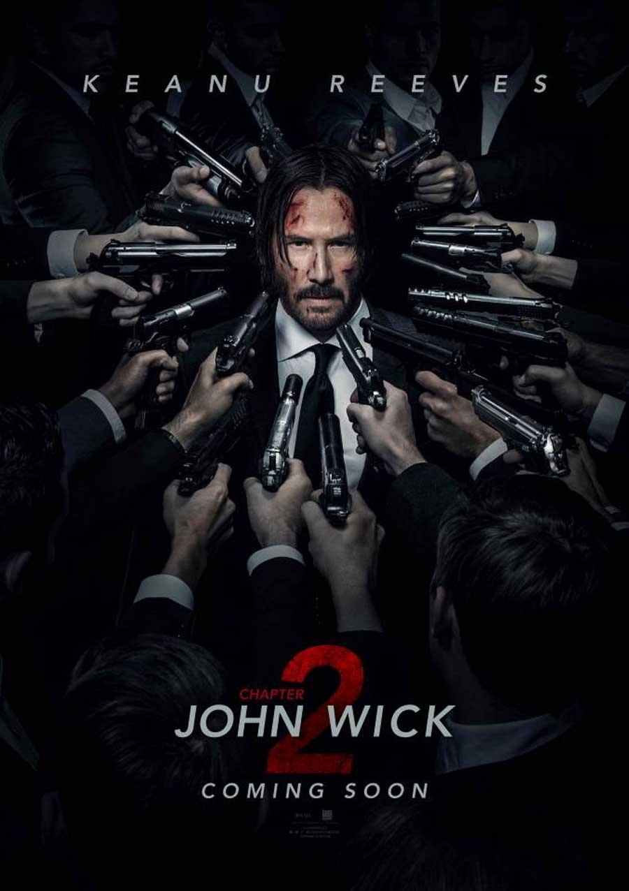 Poster for John Wick 2