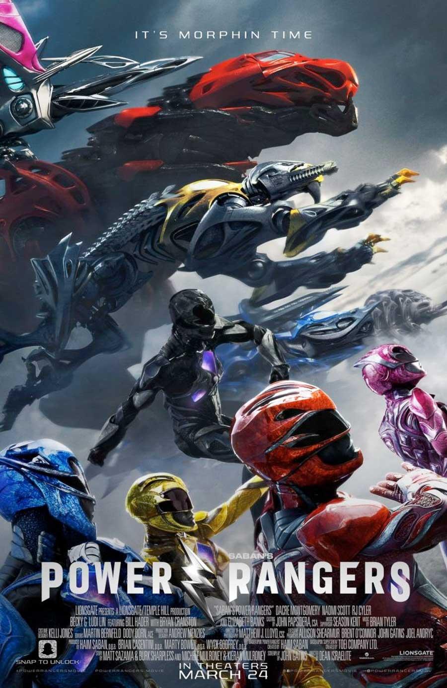 Poster for Power Rangers
