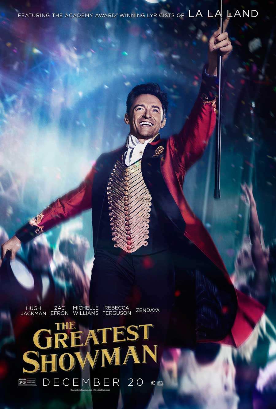 Poster for The Greatest Showman (Luxury)