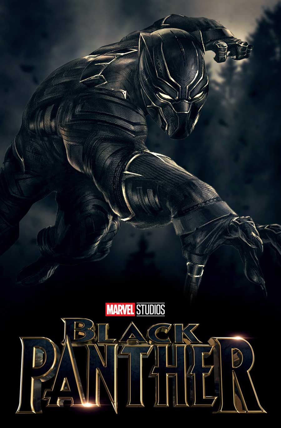 Poster for Black Panther (LUX)