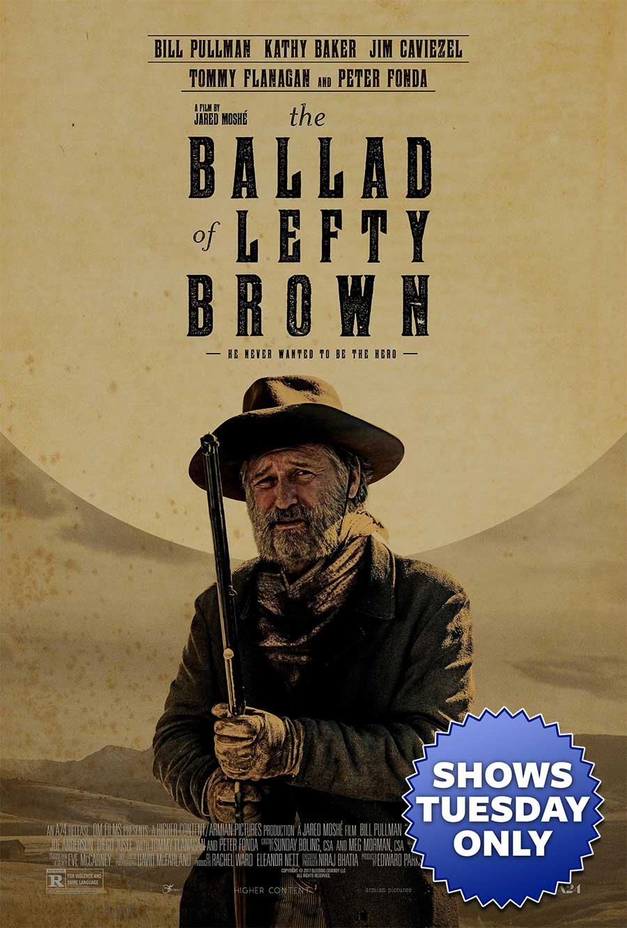 Poster for The Ballad of Lefty Brown