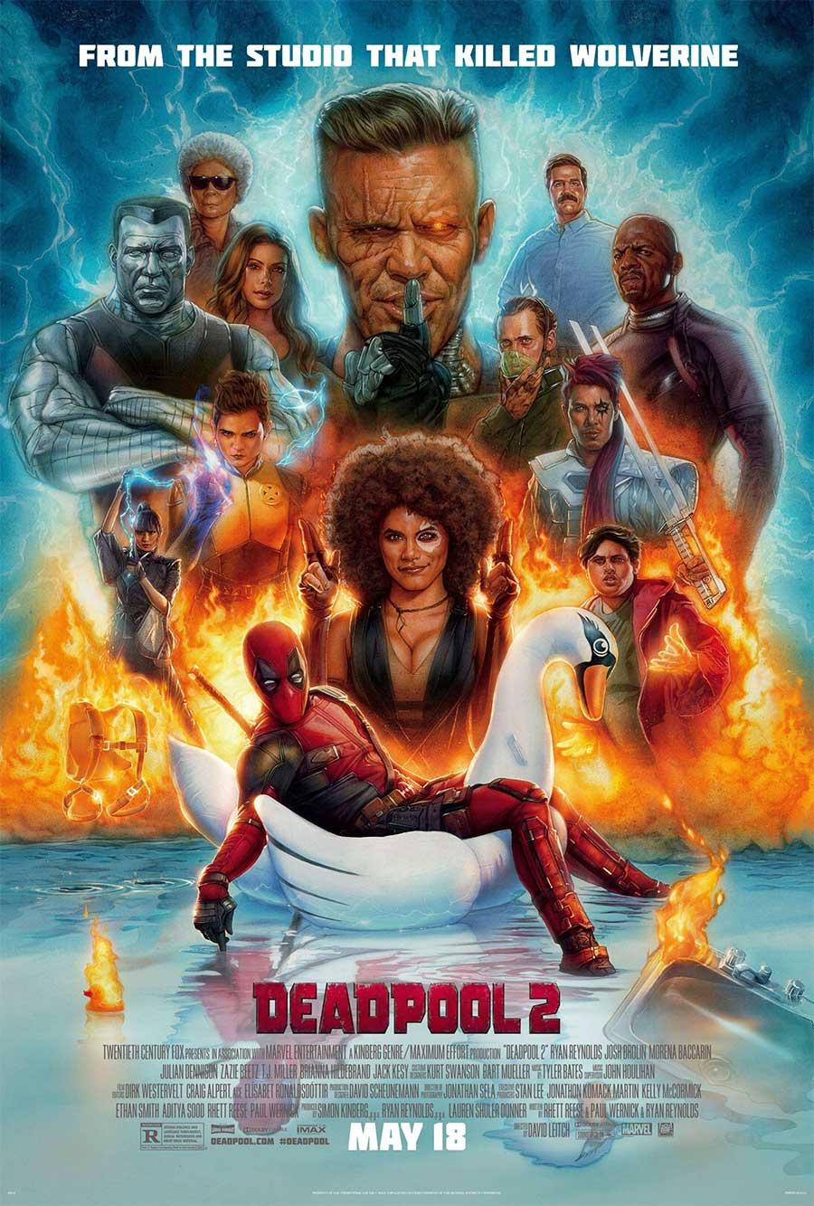 Poster for Deadpool 2