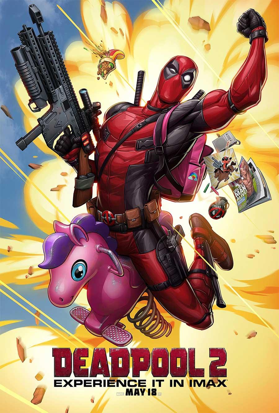 Poster for Deadpool 2 (Luxury)