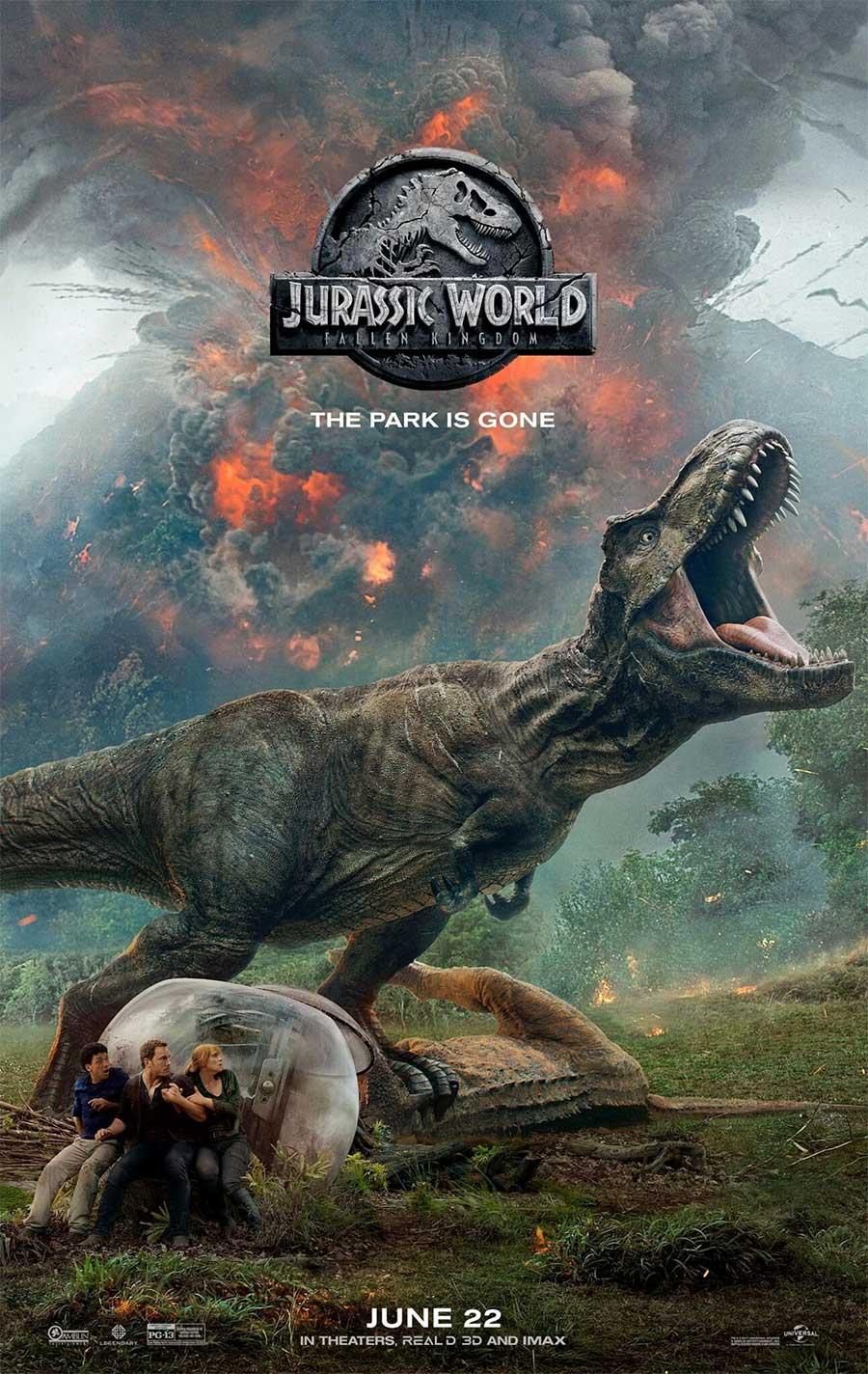 Poster for Jurassic World 2