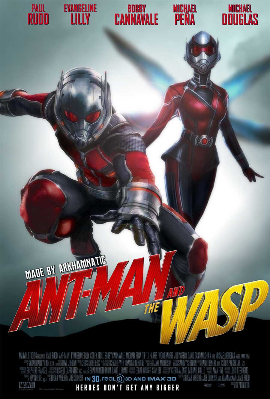 Poster for Ant-Man and the Wasp (LUX)