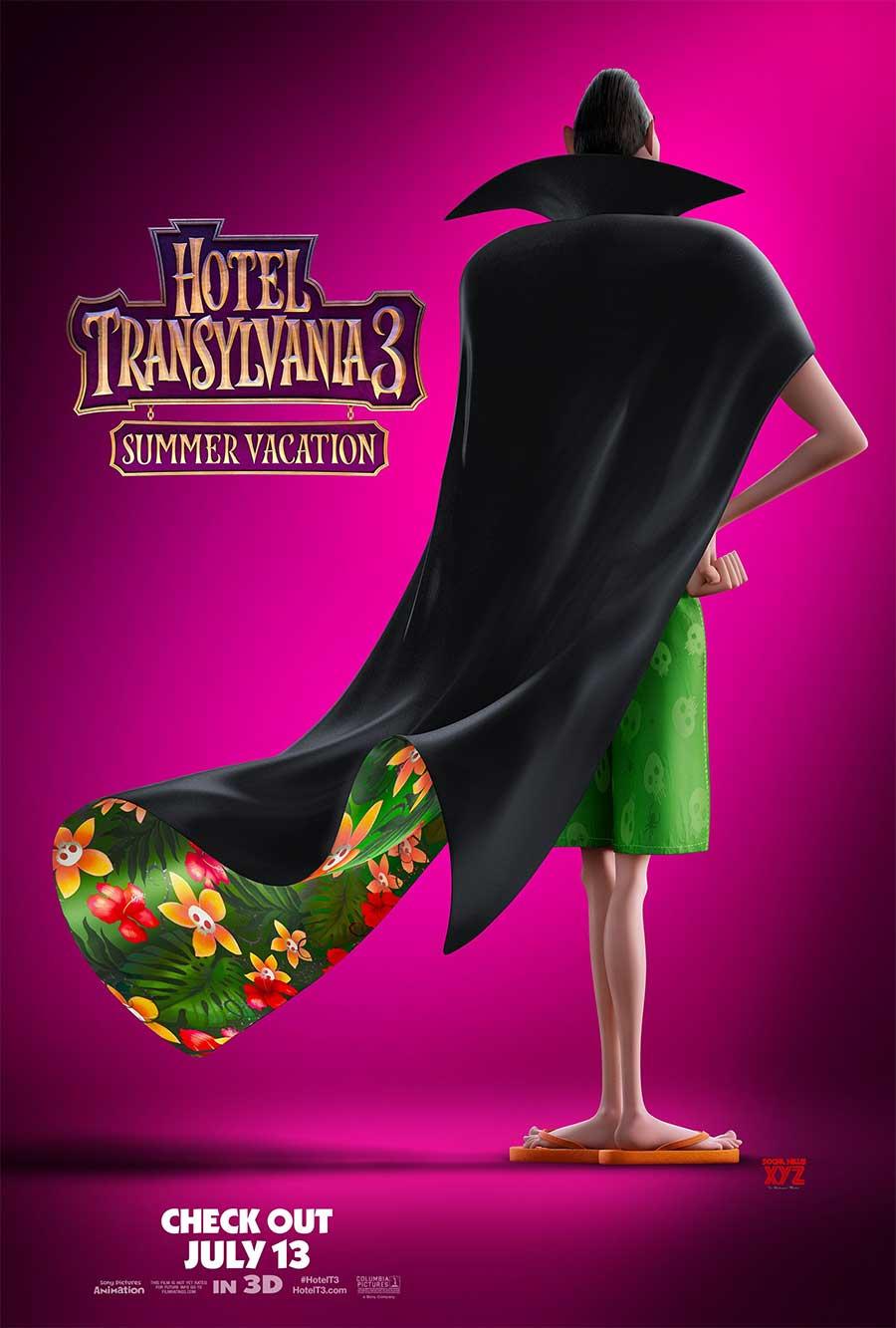 Poster for Hotel Transylvania 3: Summer Vacation