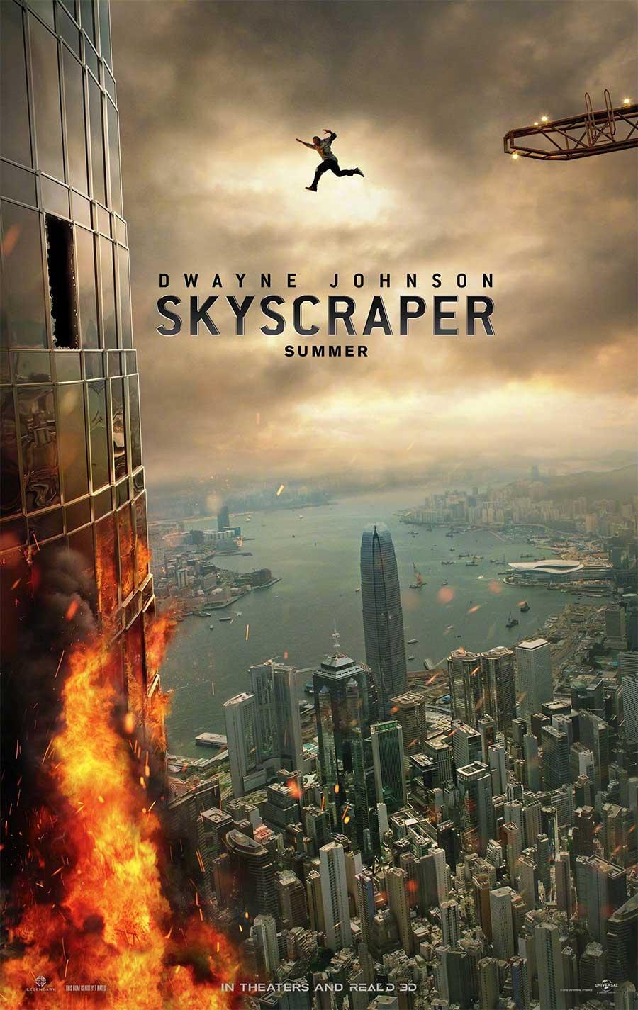 Poster for Skyscraper