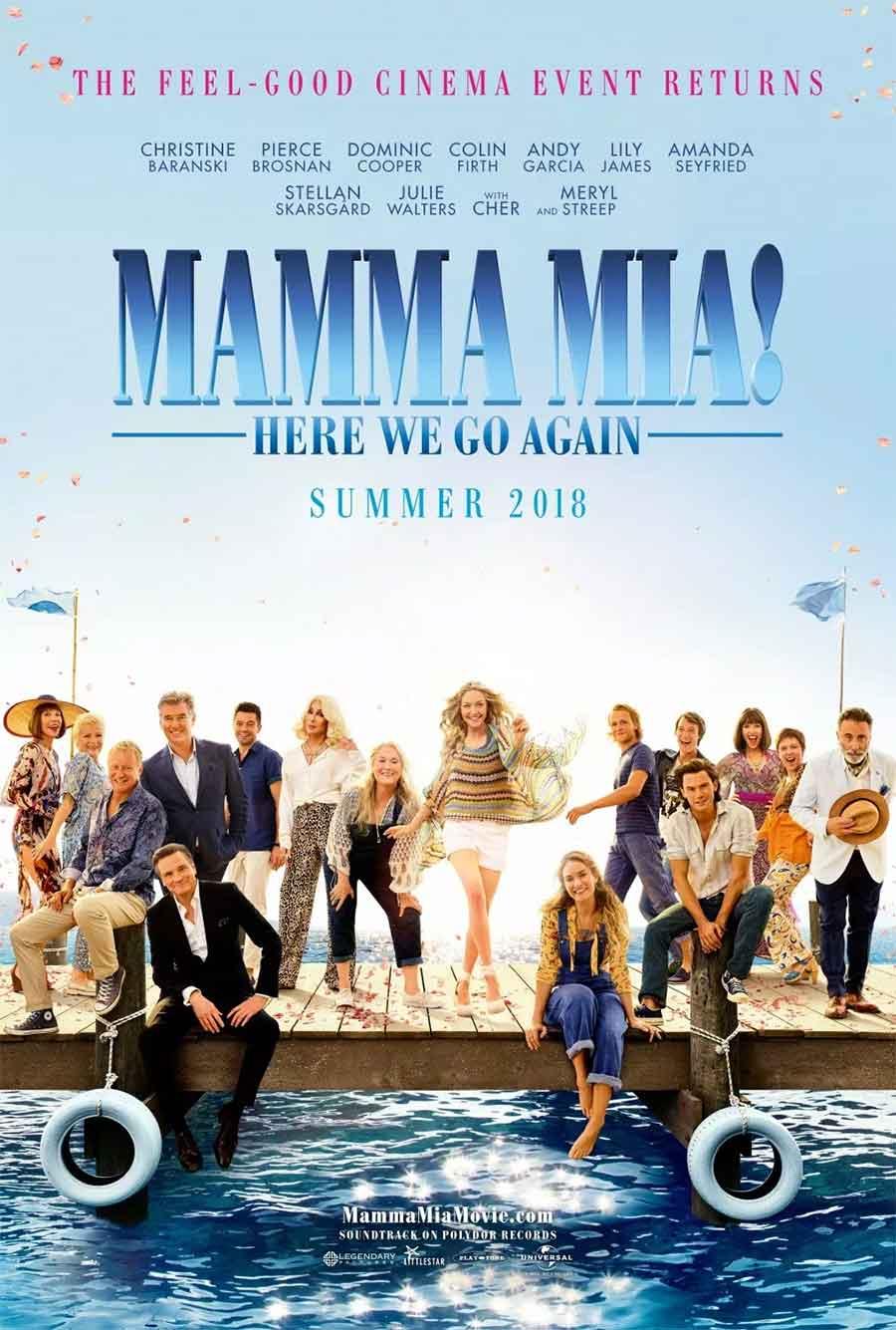 Poster for Mamma Mia! 2 (LUX)