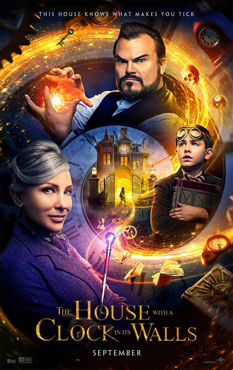 Poster for The House With a Clock in its Walls (LUX)