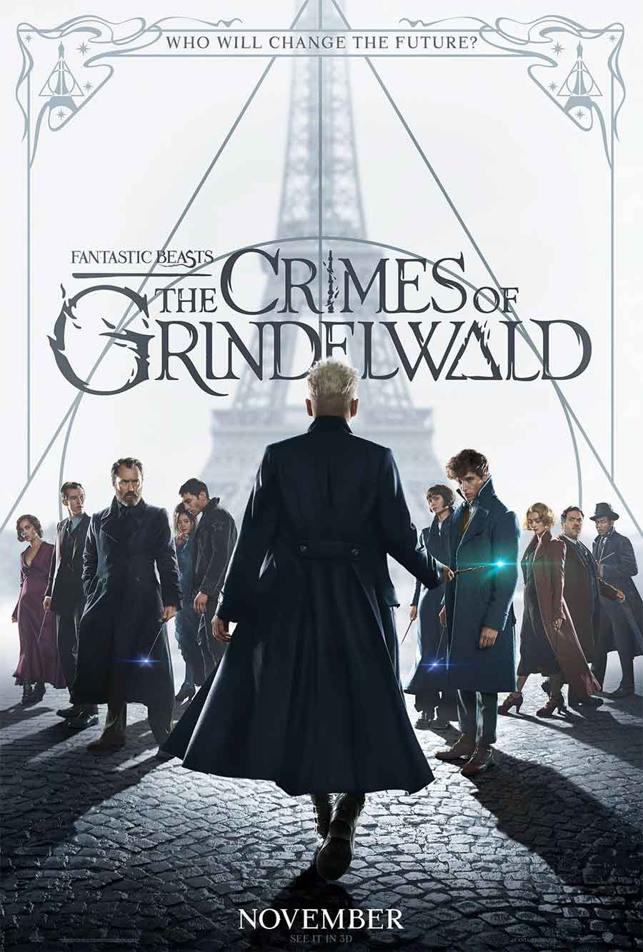 Poster for Fantastic Beasts: The Crimes of Grindelwald (LUX)