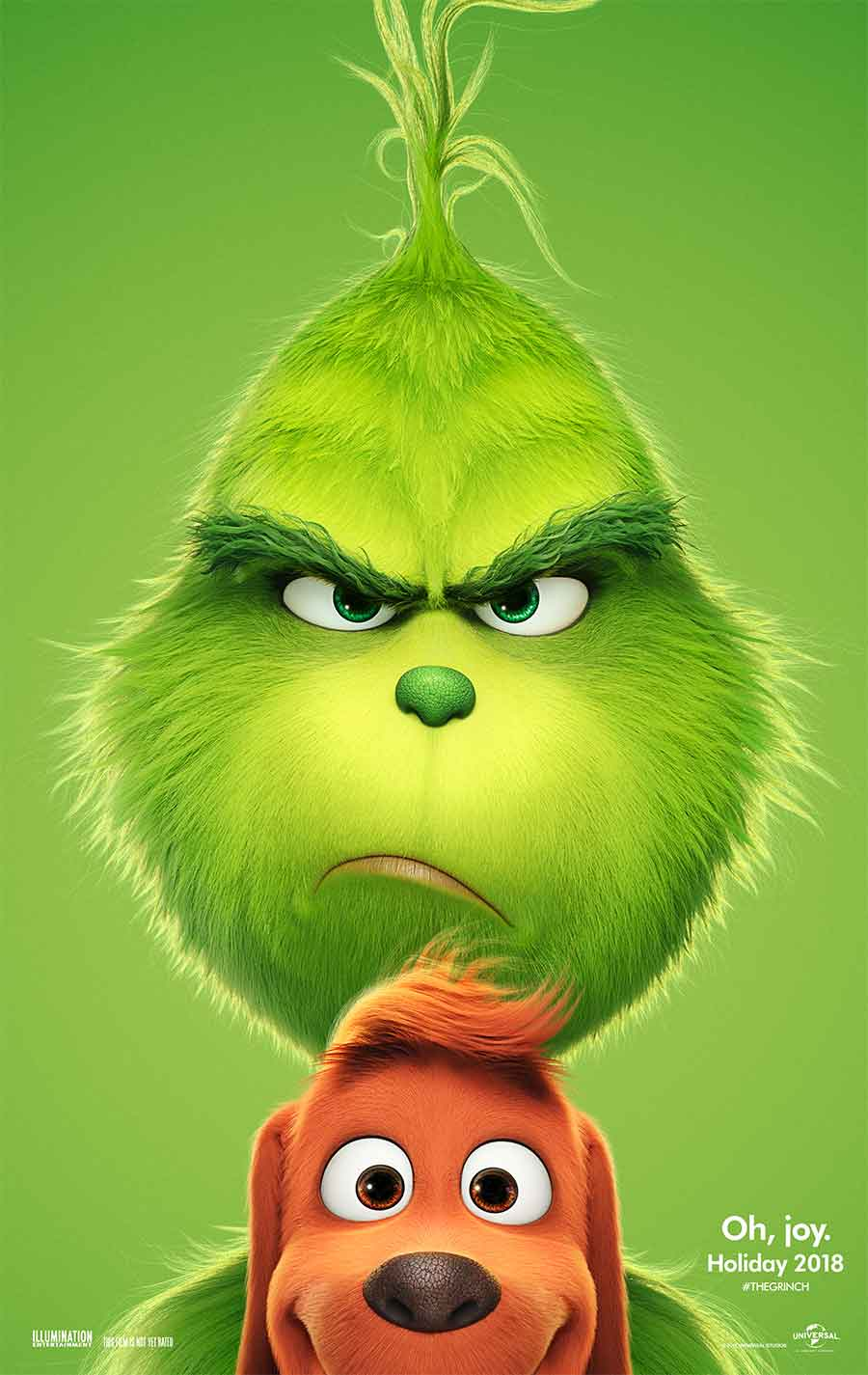 Poster for The Grinch (LUX)