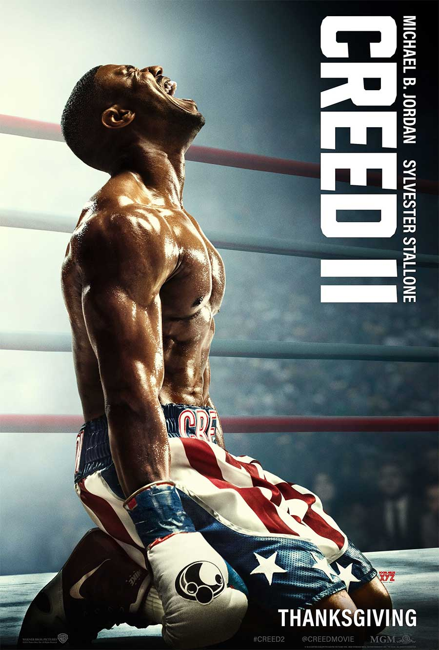 Poster for Creed II (LUX)