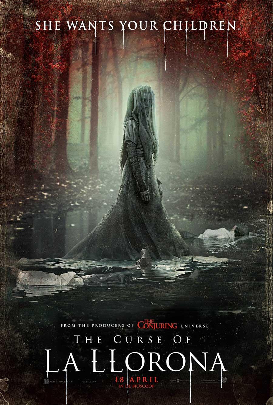 Poster for The Curse of La Llorona