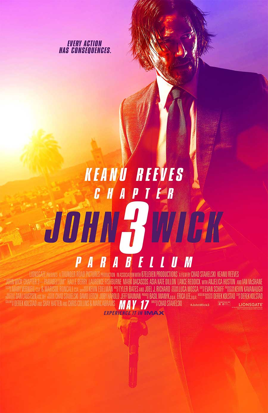 Poster for John Wick: Chapter 3 (LUX)