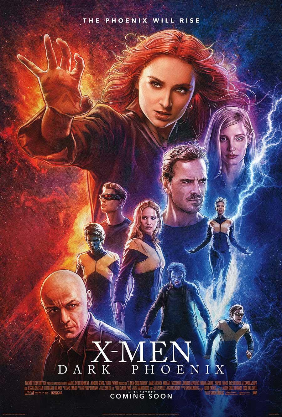 Poster for Dark Phoenix (LUX)