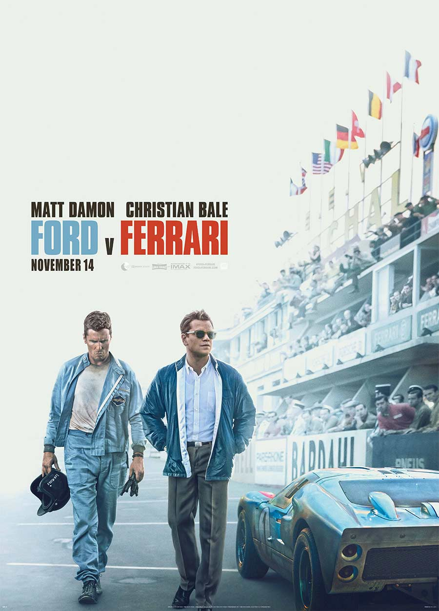 Poster for Ford v Ferrari (LUX)