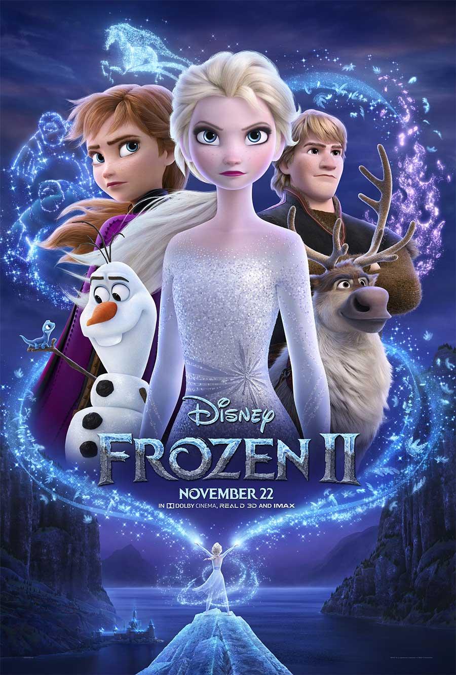 Poster for Frozen II
