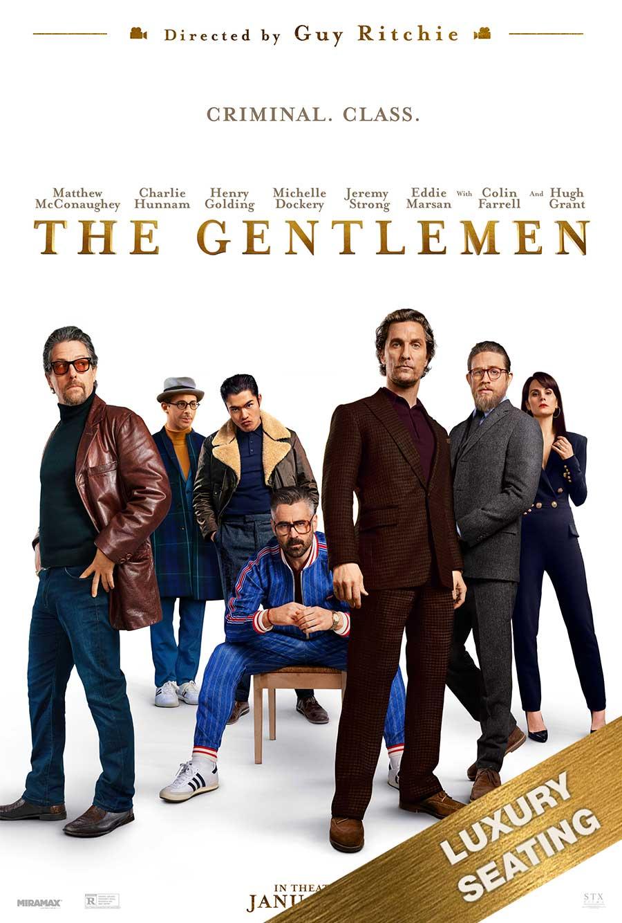 Poster for The Gentlemen (LUX)