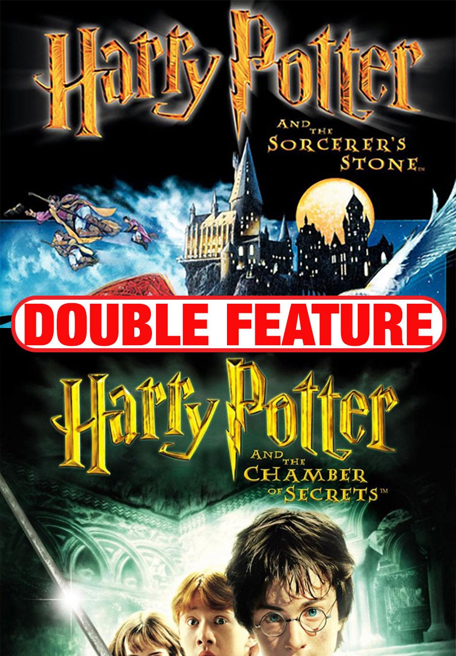 Poster for Harry Potter Sorcerer's Stone + Chamber of Secrets