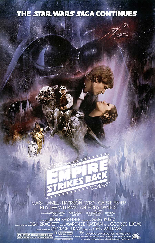 Poster for Star Wars: Episode V - The Empire Strikes Back