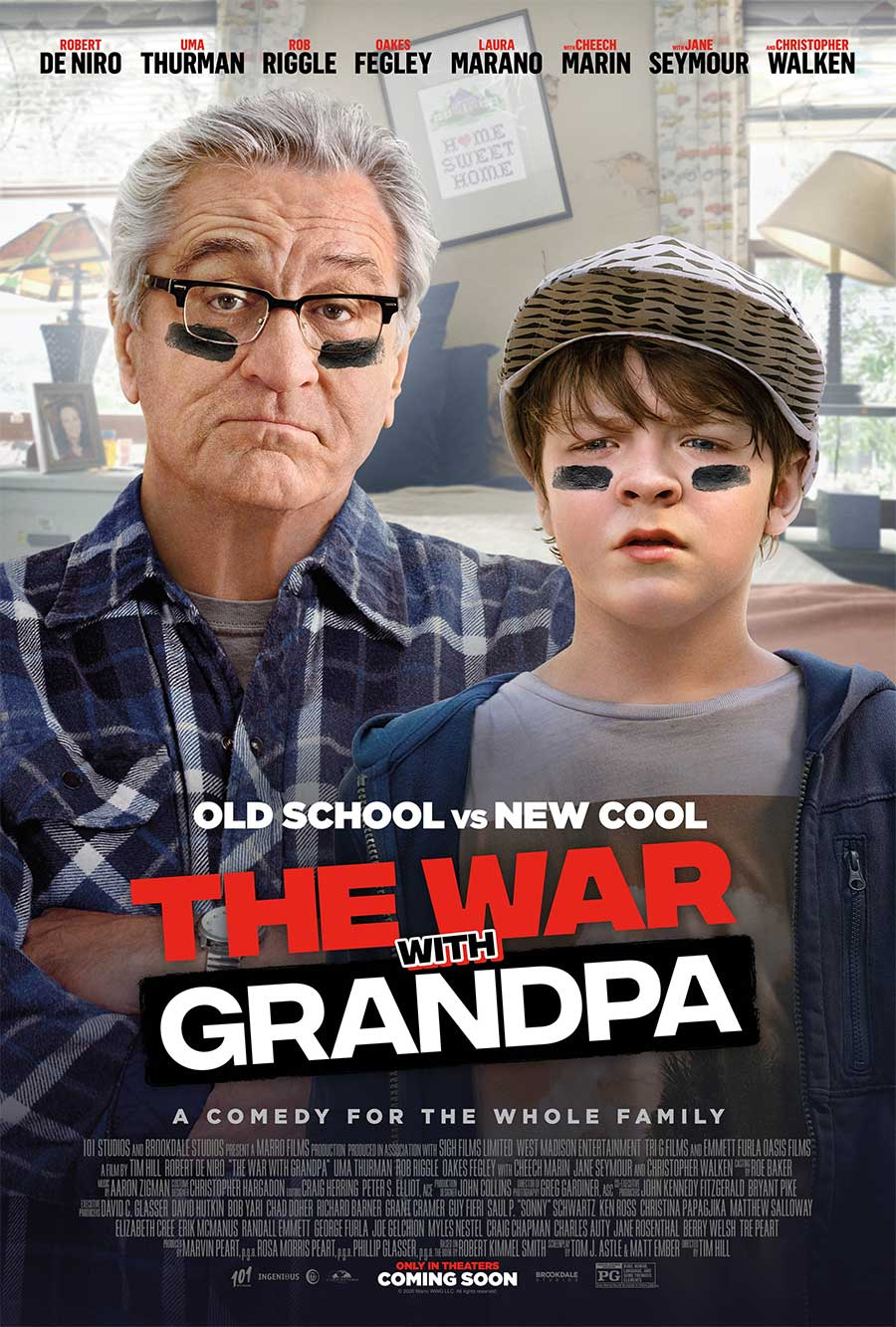 Poster for The War With Grandpa