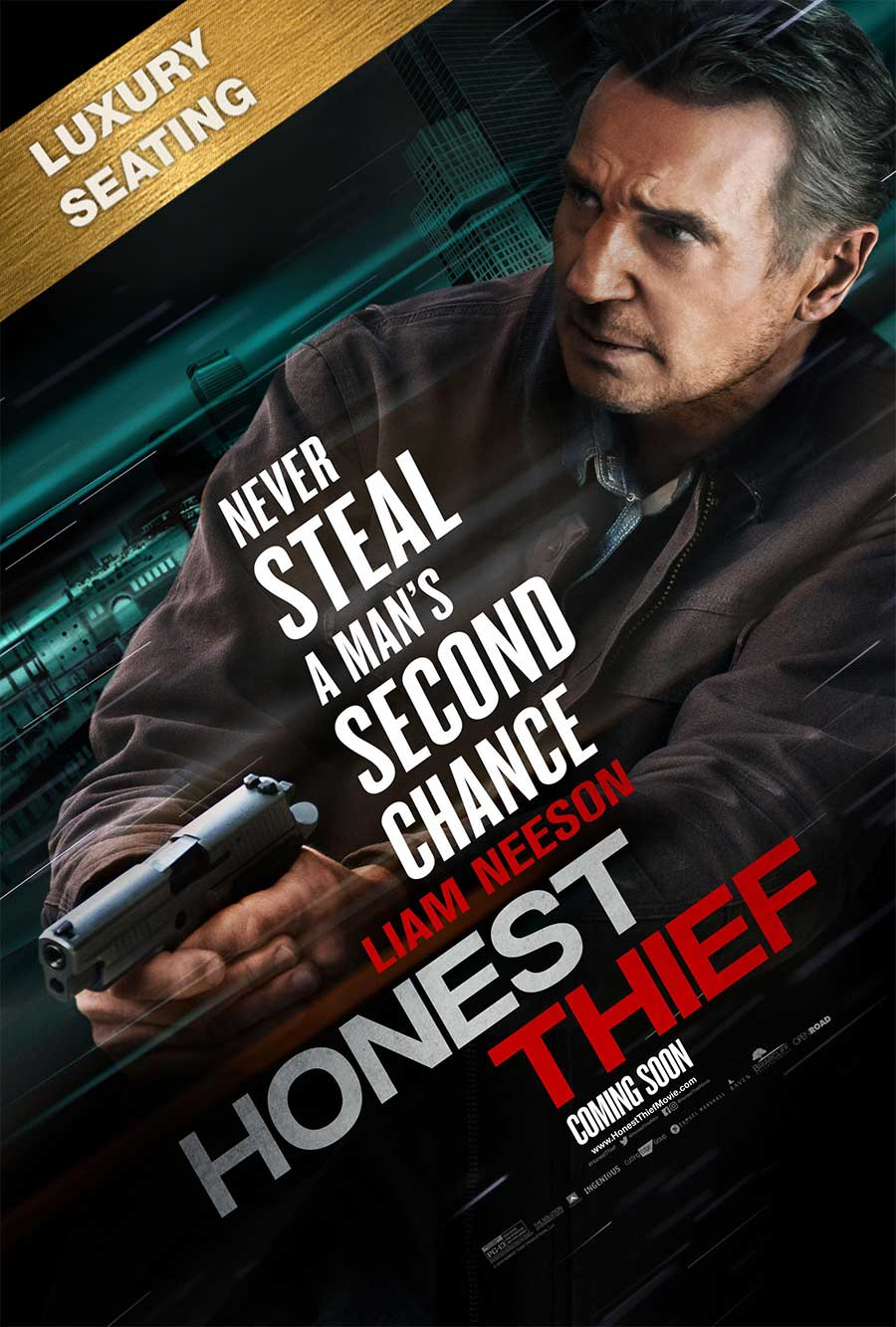 Poster for Honest Thief (LUX)