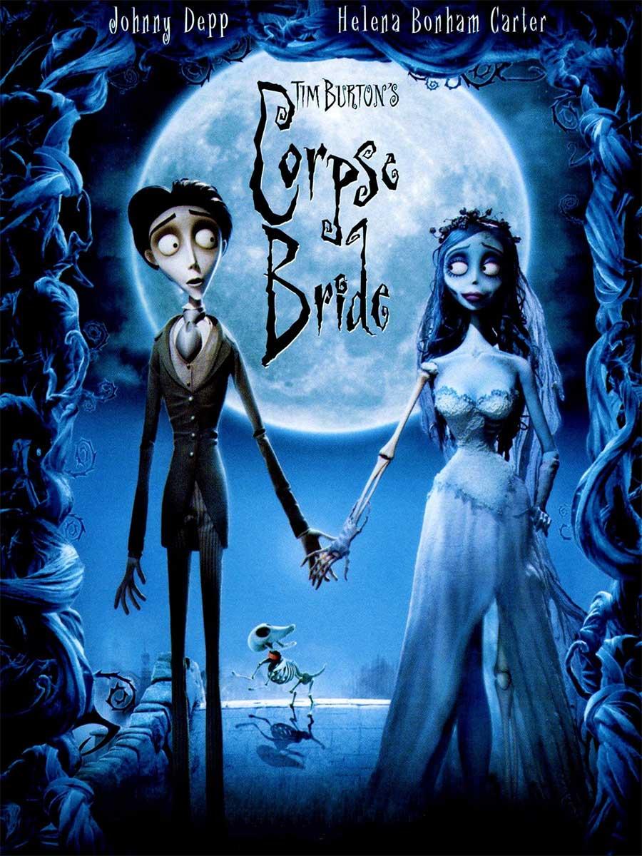Poster for Tim Burton's Corpse Bride