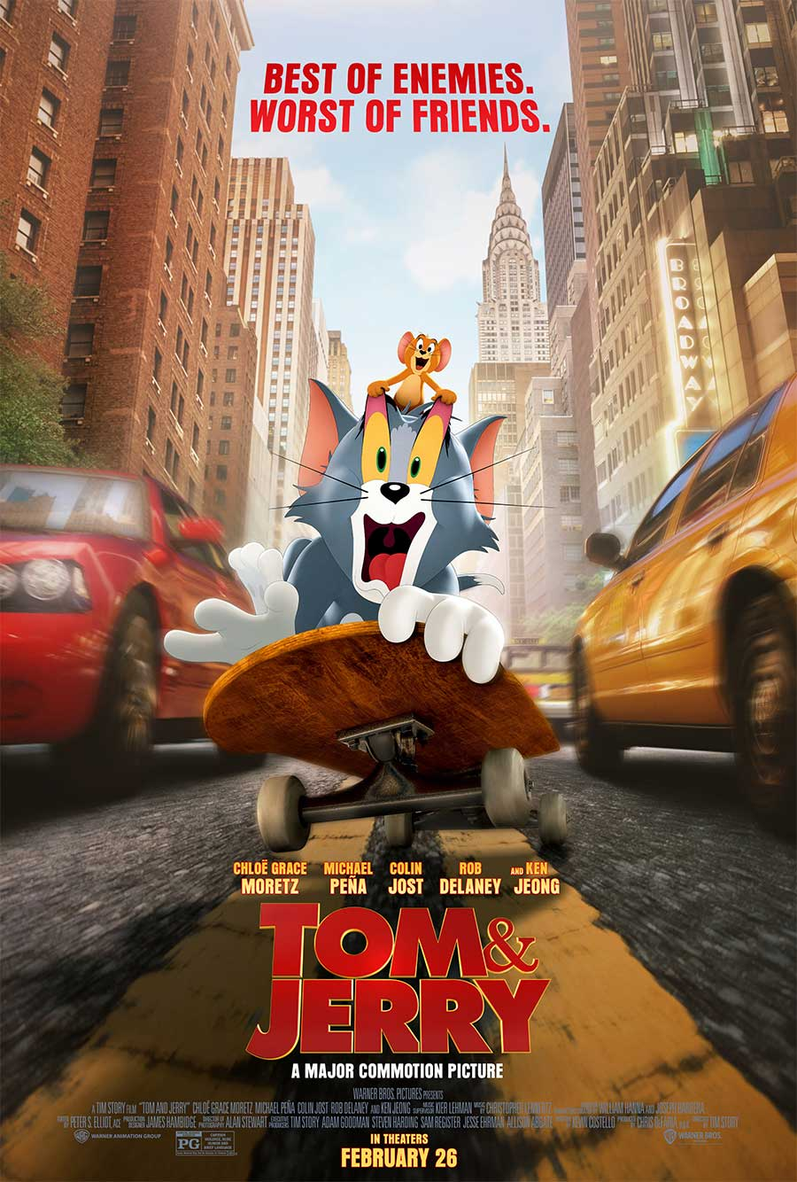 Poster for Tom and Jerry