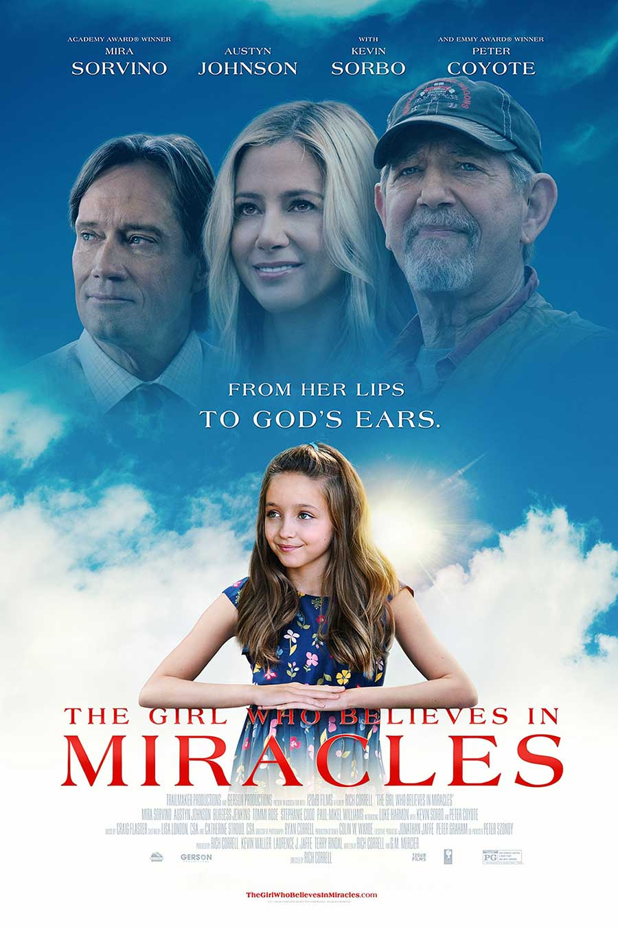Poster for The Girl Who Believes In Miracles (LUX)
