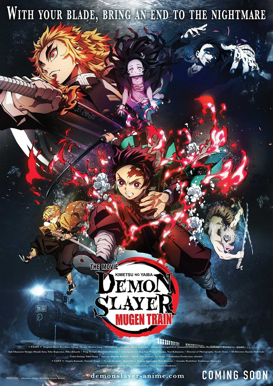 Poster for Demon Slayer: Mugen Train