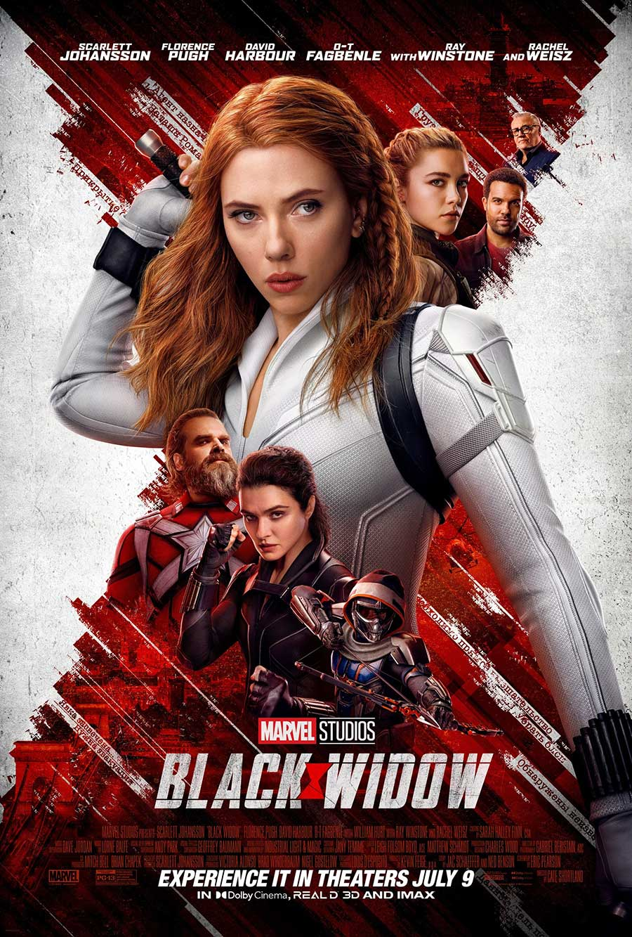 Poster for Black Widow