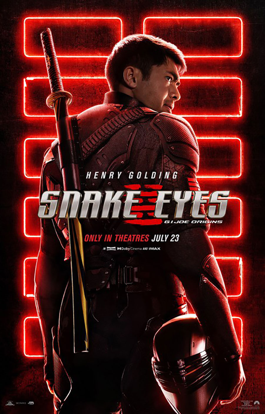 Poster for Snake Eyes