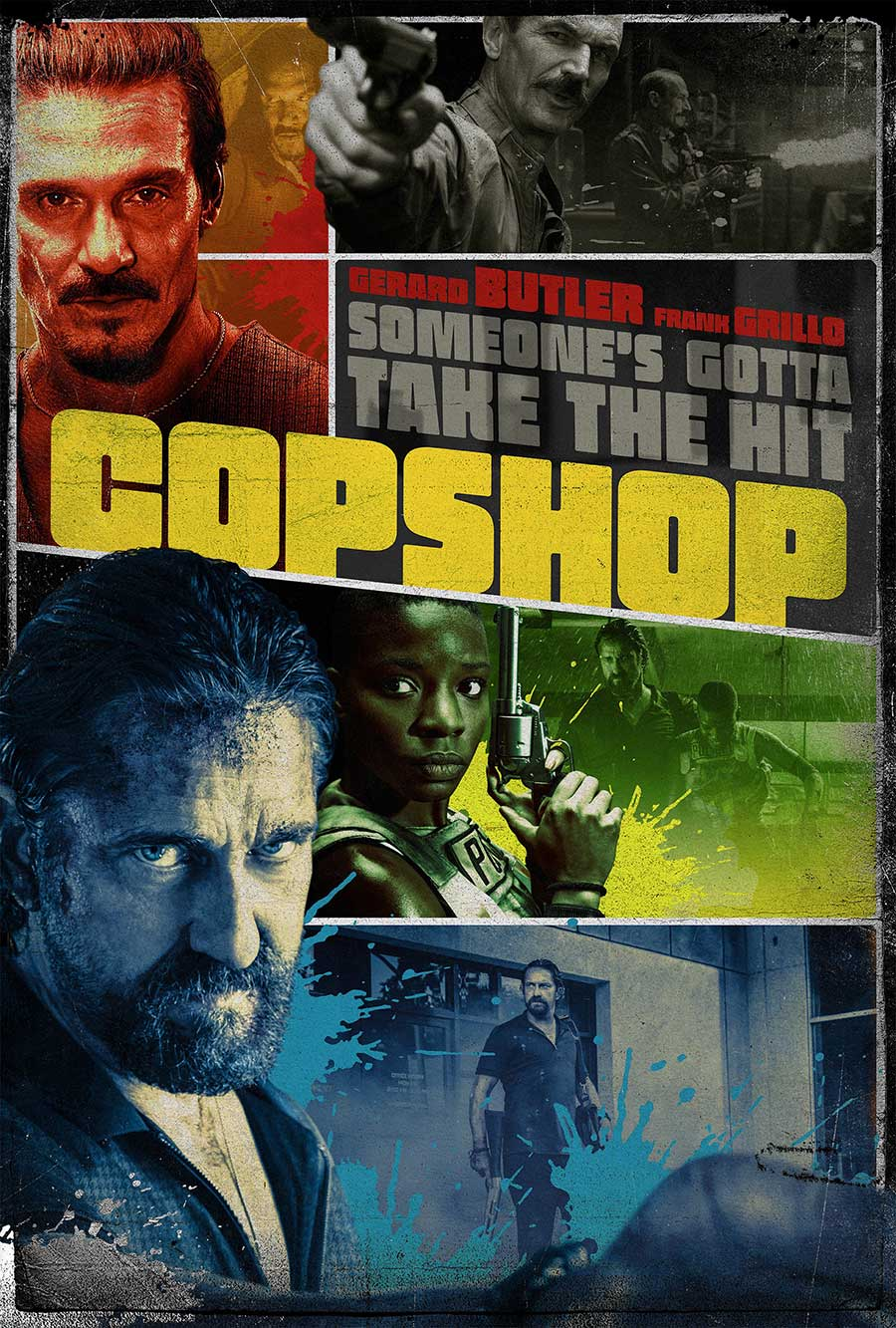 Poster for Copshop