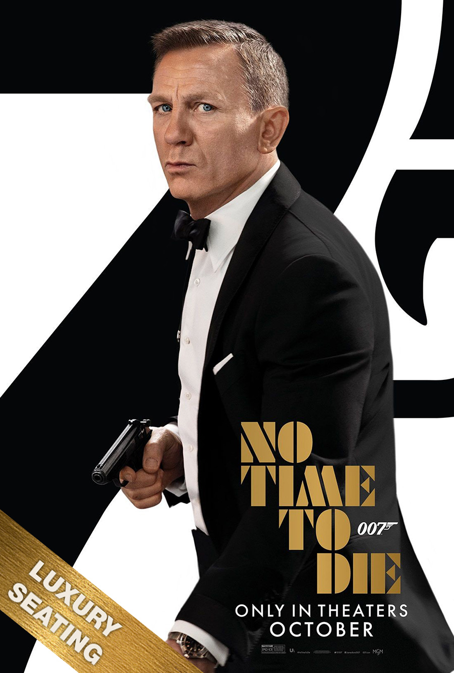 Poster for No Time To Die (LUX)