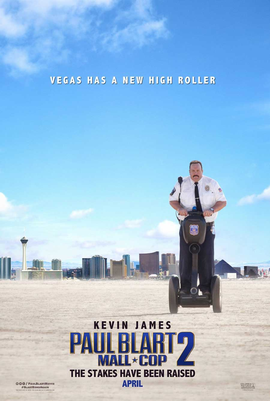 Poster for Paul Blart: Mall Cop 2