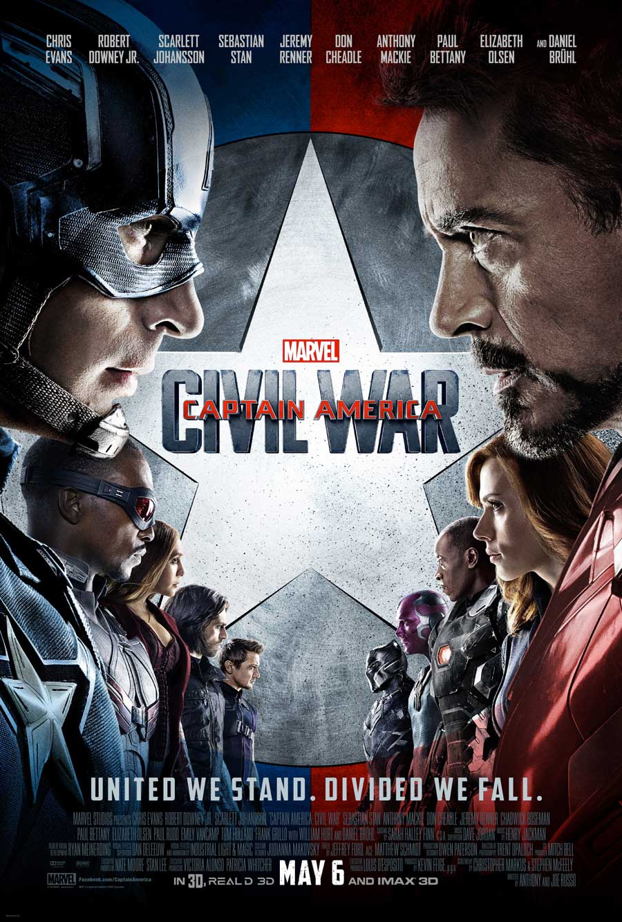 Poster for Captain America: Civil War