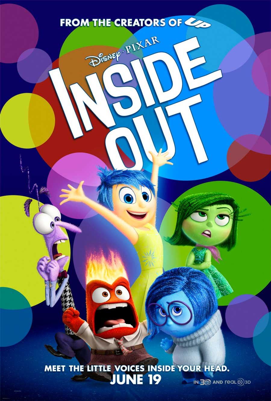 Poster for Inside Out