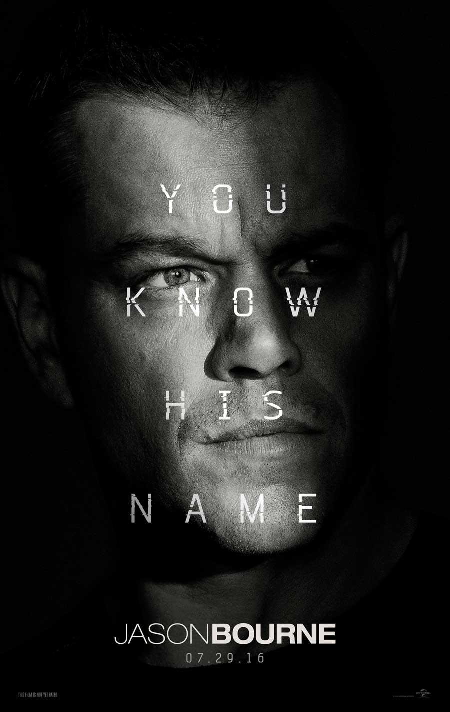 Poster for Jason Bourne
