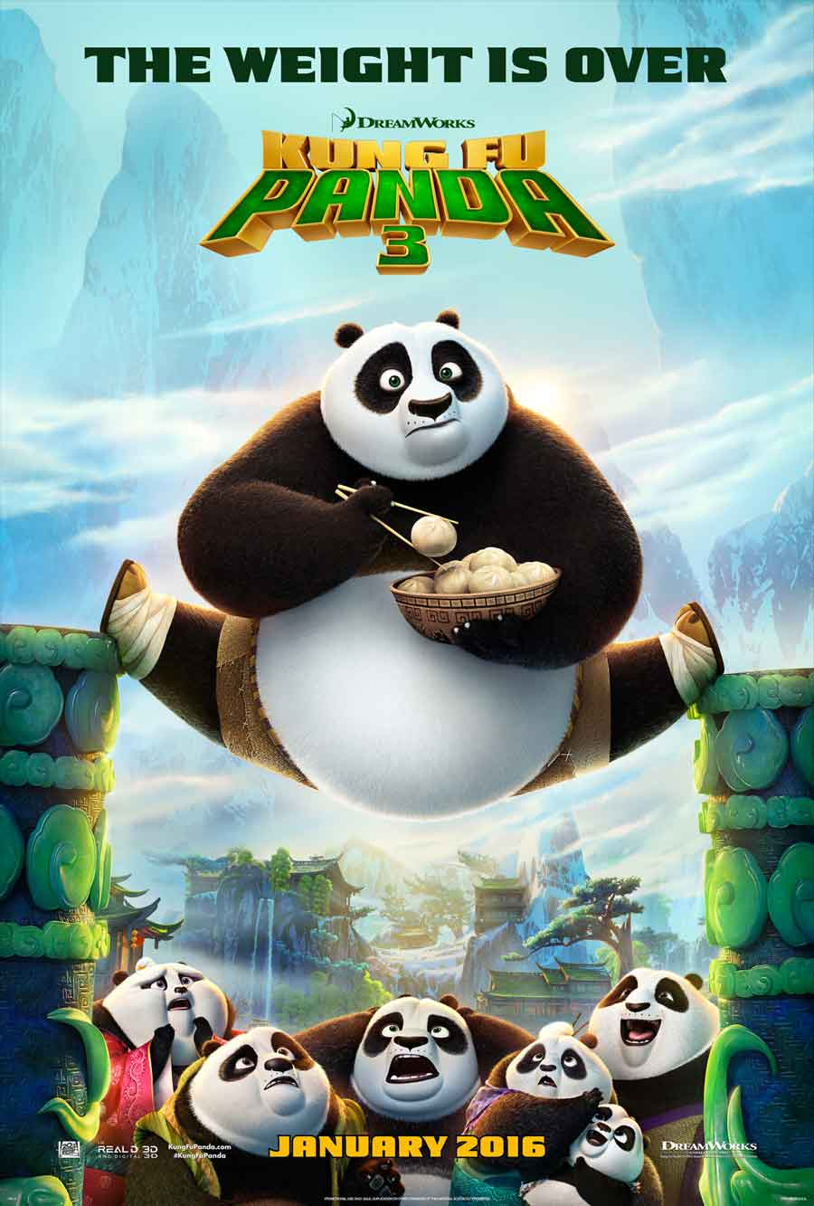Poster for Kung Fu Panda 3