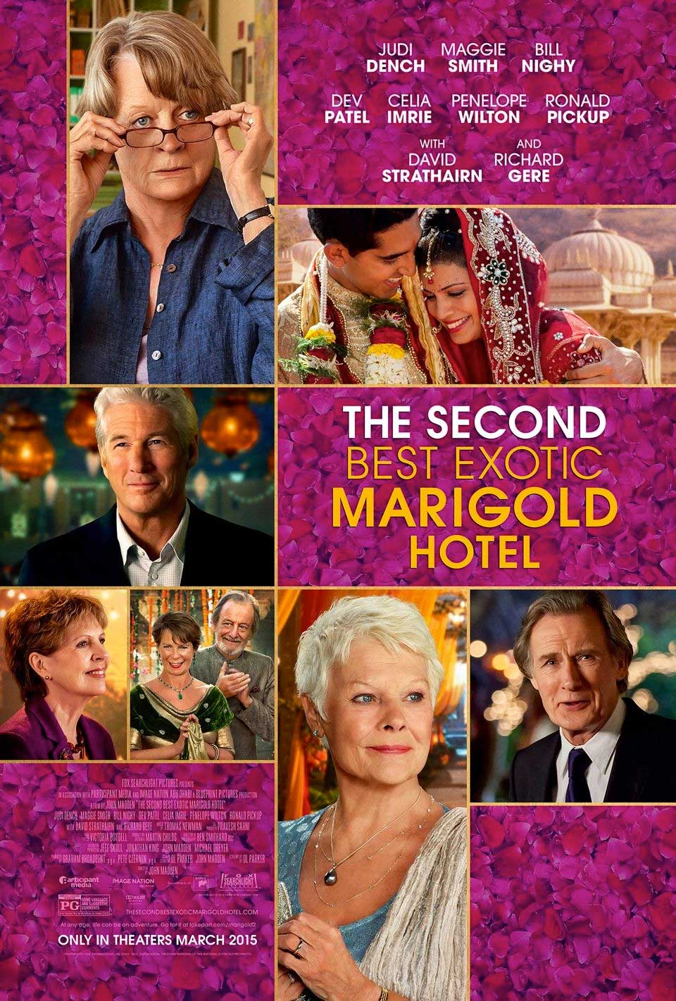 Poster for The Second Best Exotic Marigold Hotel