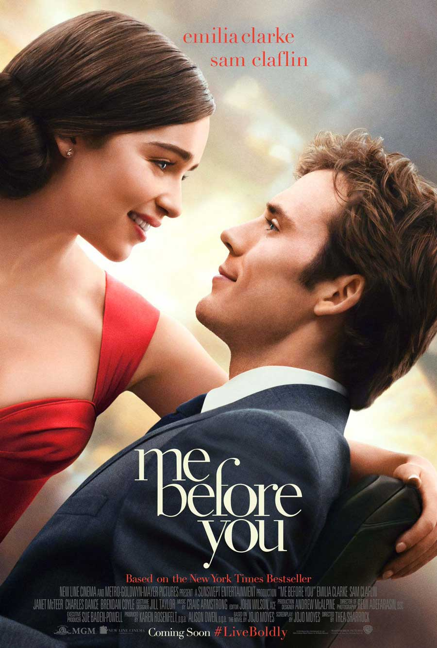 Poster for Me Before You