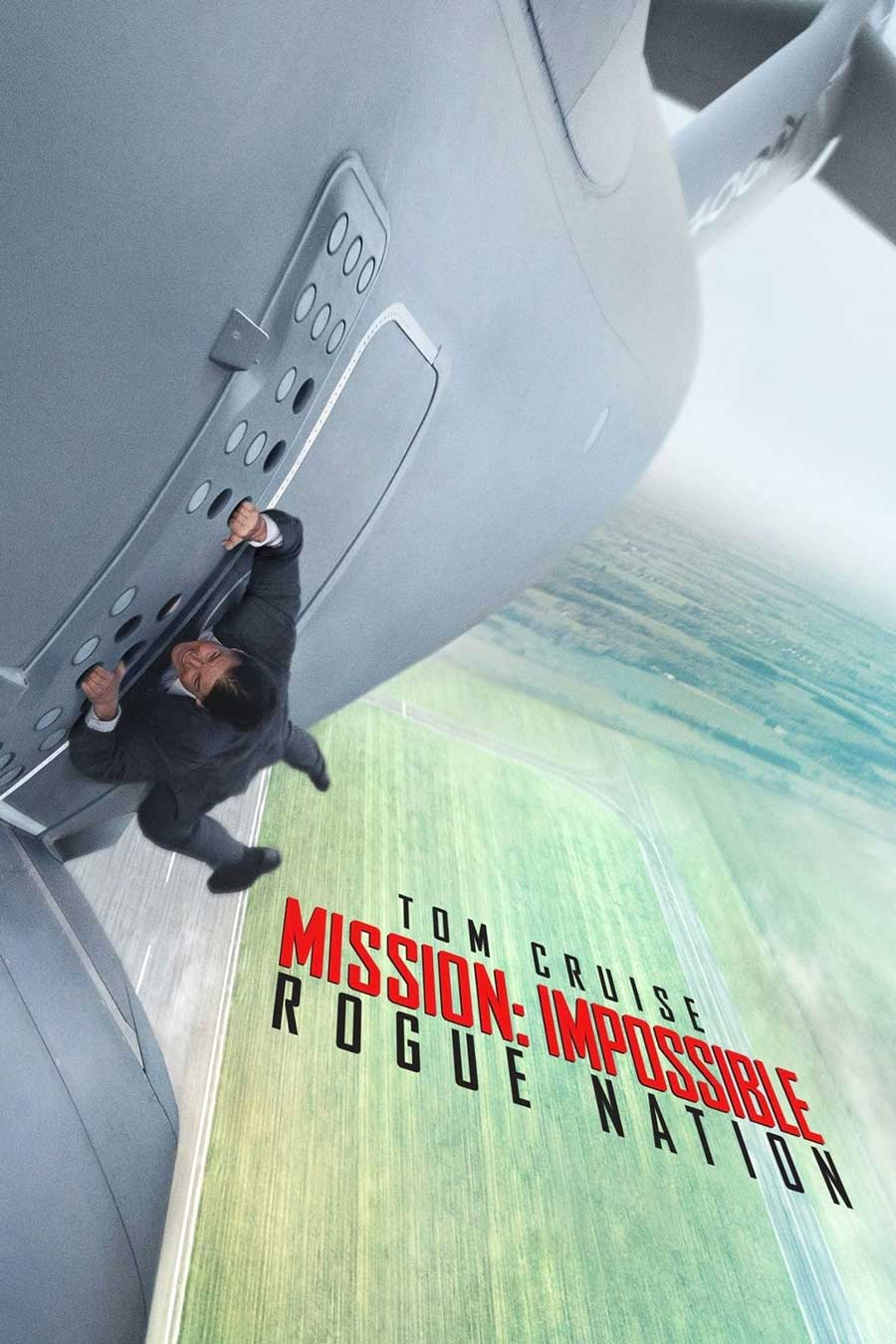 Poster for Mission: Impossible Rogue Nation