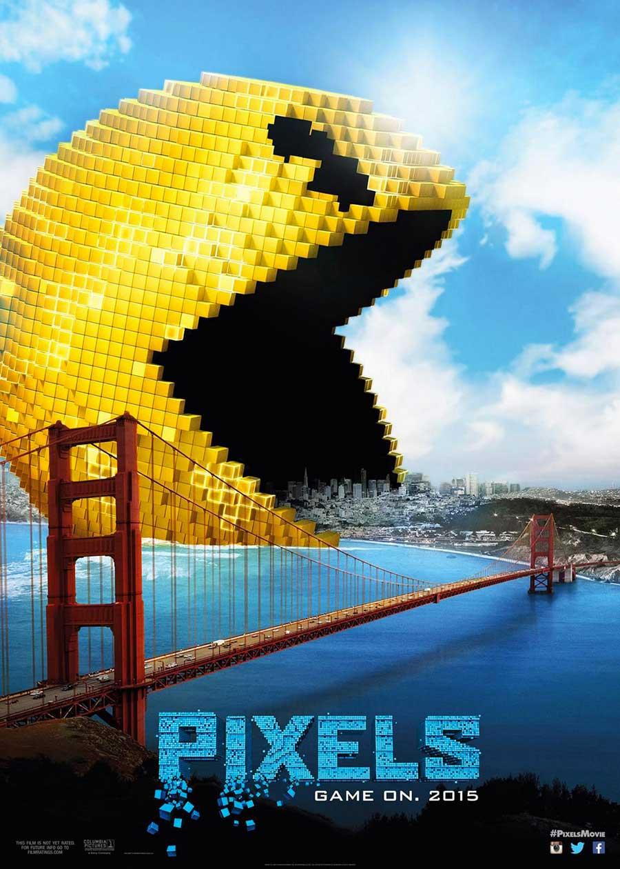 Poster for Pixels