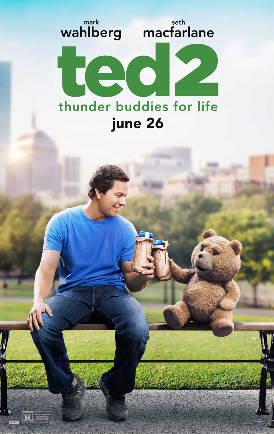 Poster for Ted 2
