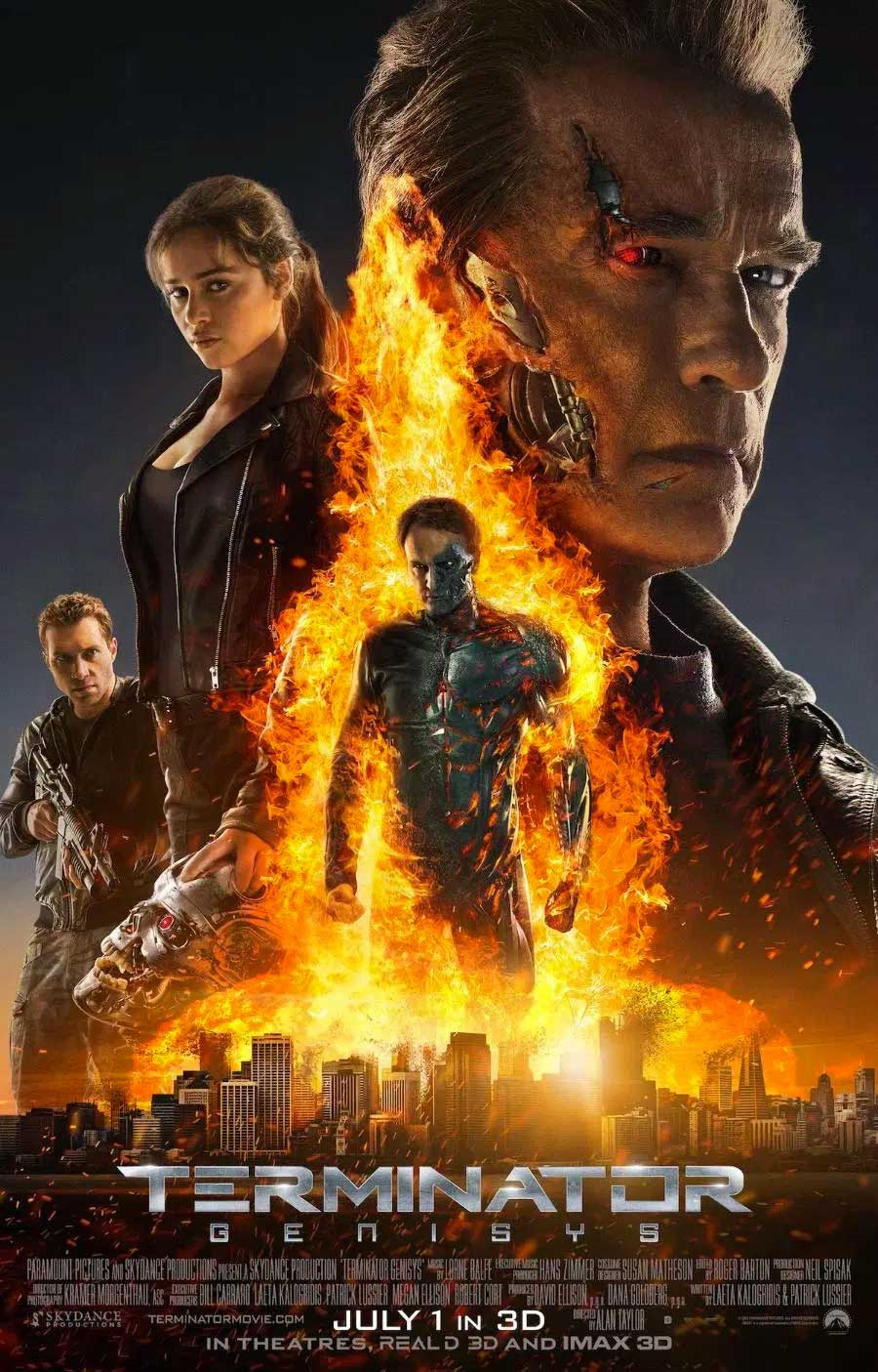 Poster for Terminator Genisys