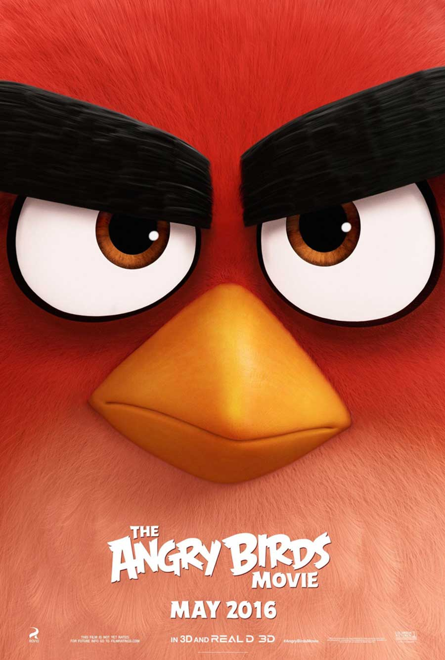 Poster for The Angry Birds Movie