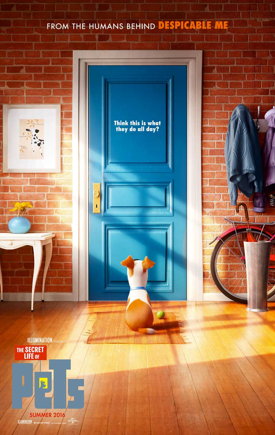 Poster for The Secret Life of Pets