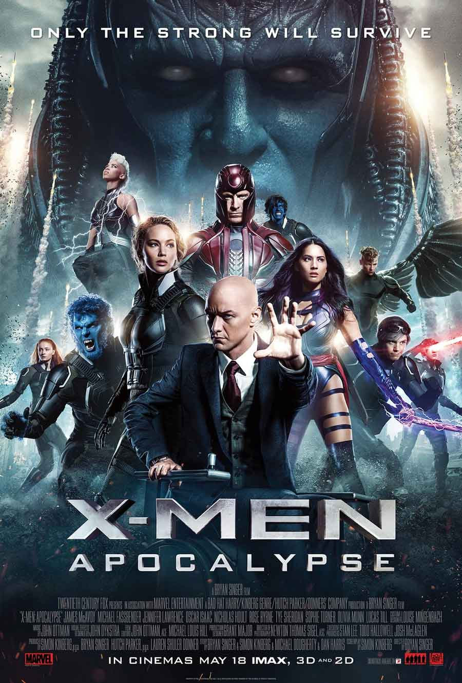 Poster for X-Men: Apocalypse
